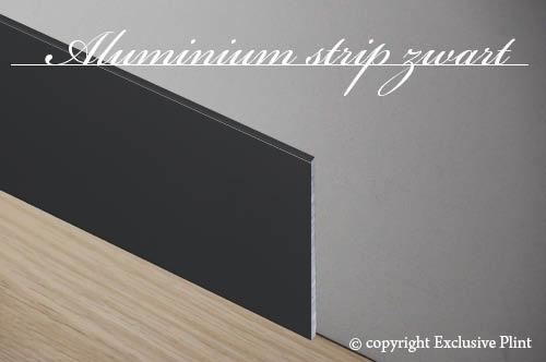 Aluminium strip zwart