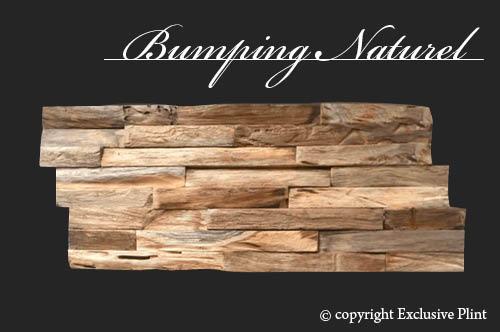 Hout wandpaneel Bumping Naturel