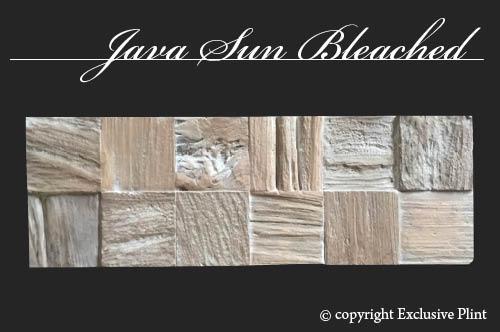 Hout wandpaneel Java Sun Bleached