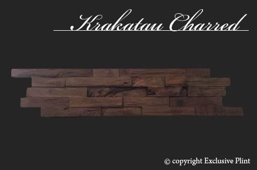Hout wandpaneel Krakatau Charred