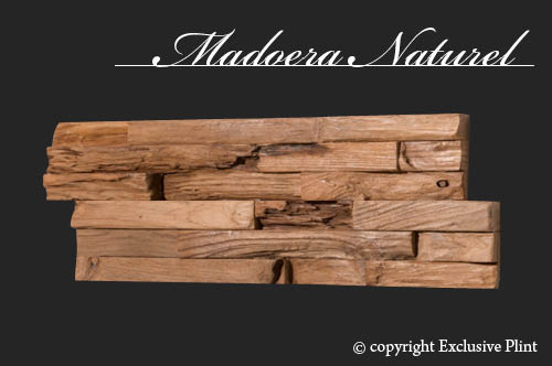 Hout wandpaneel Madoera Naturel