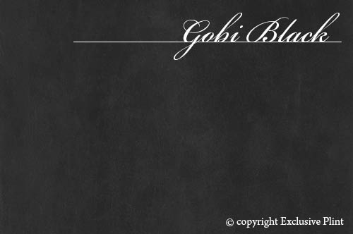 Leren wandpaneel Gobi Black