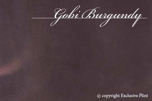 Leren wandpaneel Gobi Burgundy