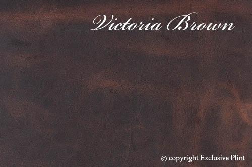 Leren wandpaneel Victoria Brown