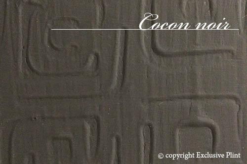 Structuur wandpaneel Cocon noir